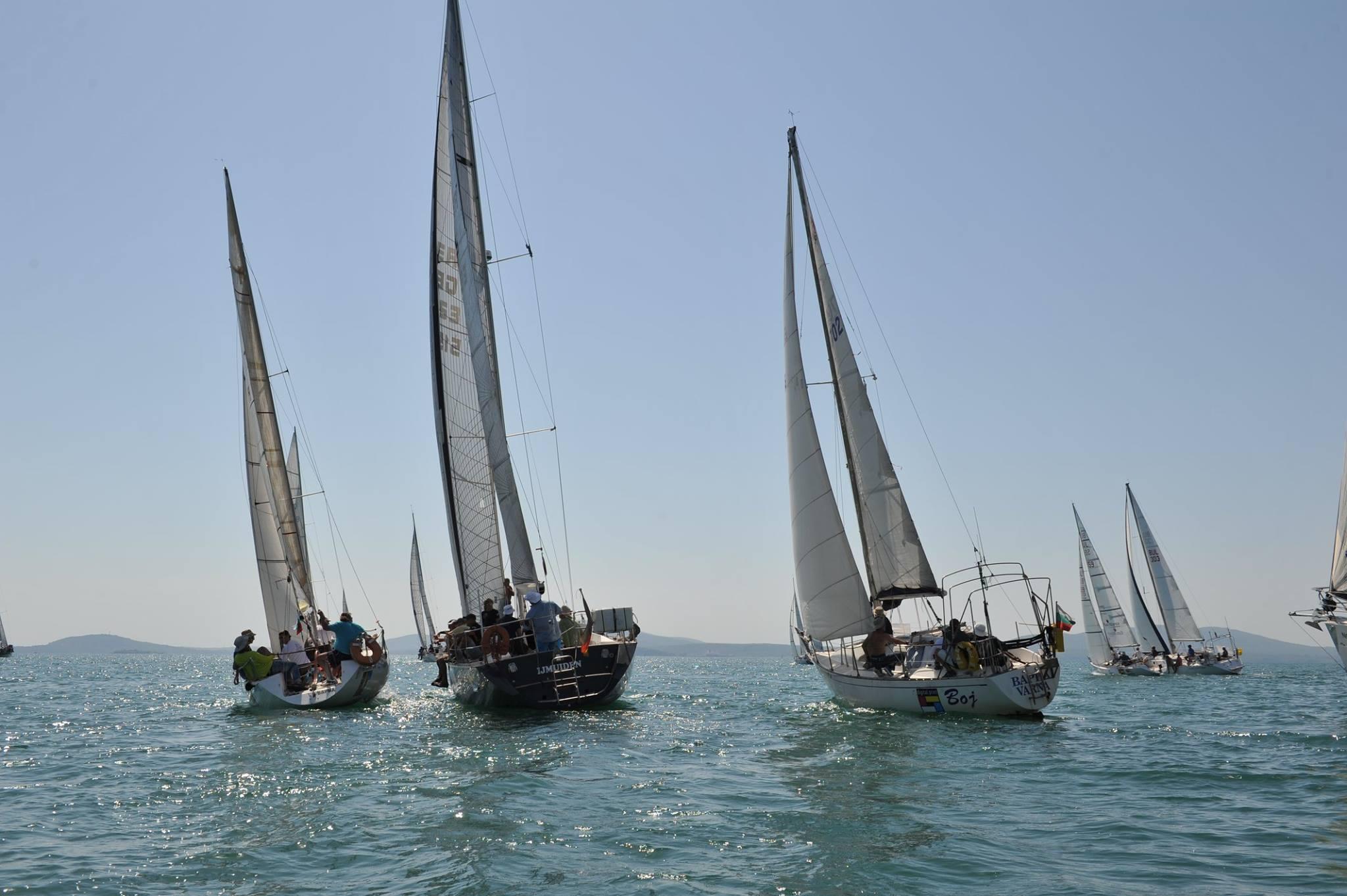 Резултат с изображение за първата официална международна регата за яхти.