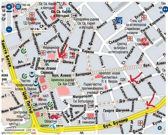 Karta 2019 Karta Na Ulicite V Burgas