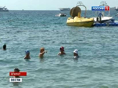 Подводной съемкой на одном из заповедных островов в Хургаде