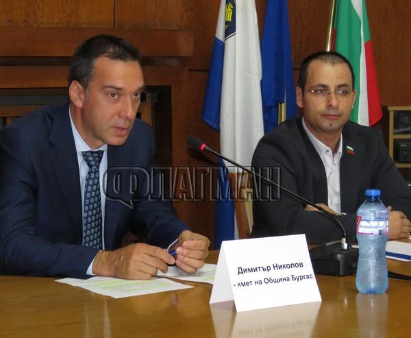 """Кметовете си стиснаха ръцете: Бургаска област става район """"Южно Черноморие"""" в туризма (СНИМКИ)"""