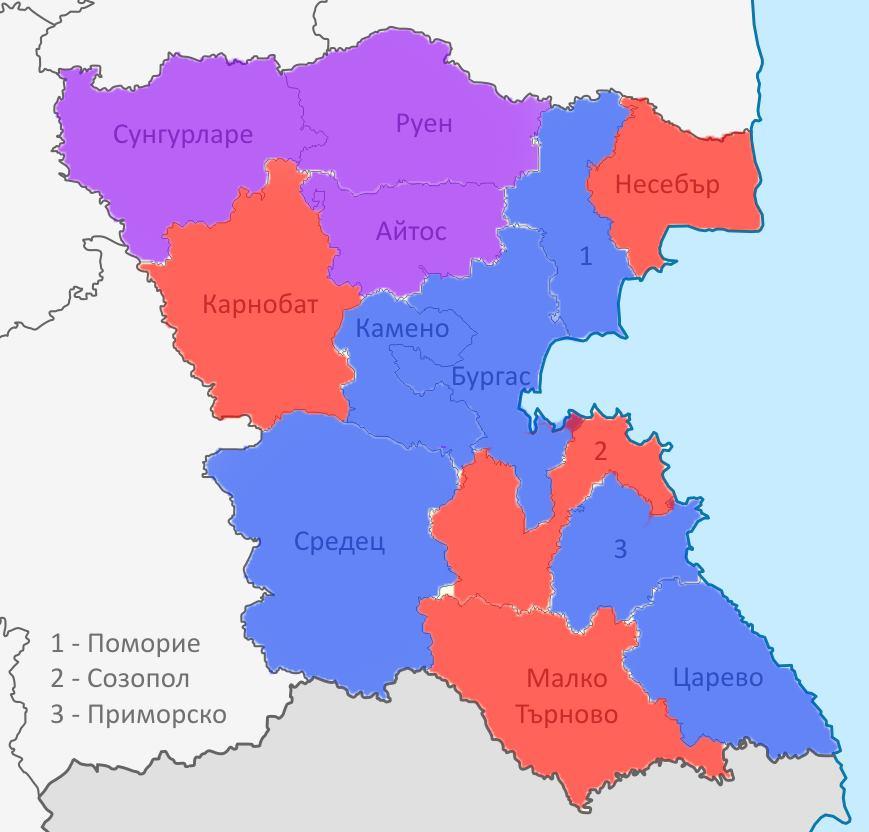 Rezultati Ot Evroizborite 2019 V Burgaska Oblast